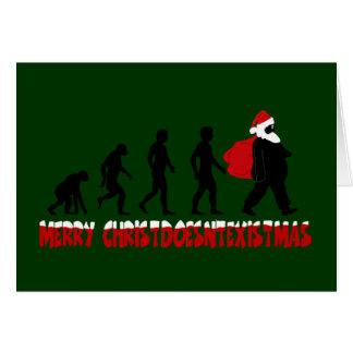 Navidad ateo felicitación