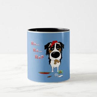 Navidad australiano del pastor taza de café