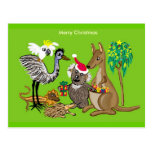 Navidad australiano postal