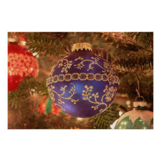 Navidad azul posters