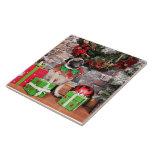 Navidad - barro amasado - lirio Lou Tejas Ceramicas