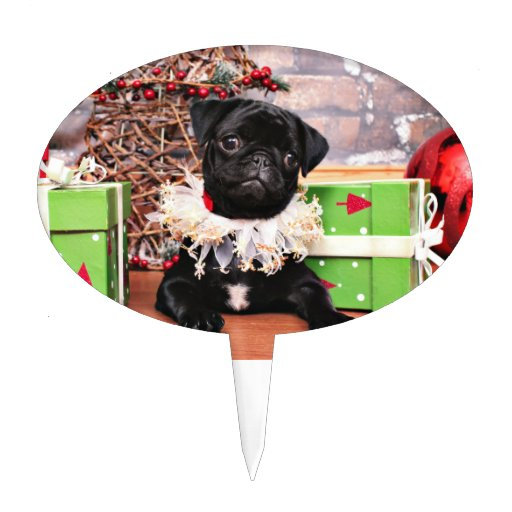 Navidad - barro amasado - margarita Mae Decoración De Tarta