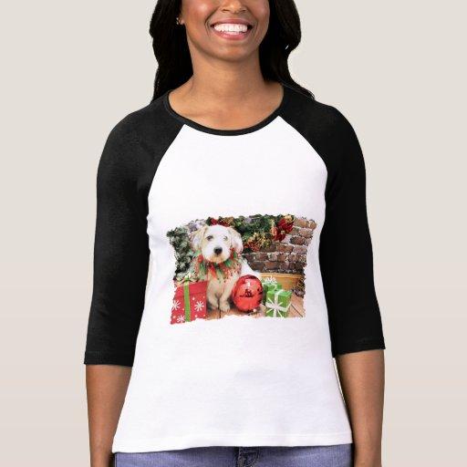 Navidad - Basset Hound X - Maggie Camisetas