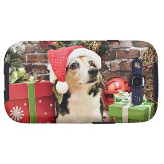 Navidad - beagle - Bailey Samsung Galaxy S3 Carcasa