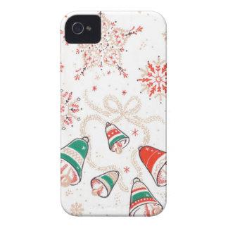 Navidad Belces del ganador del TBA iPhone 4 Case-Mate Cobertura