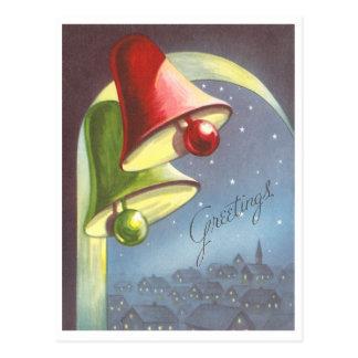 Navidad Belces del vintage Tarjetas Postales