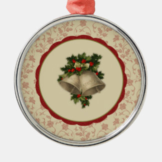 Navidad Belces del vintage y ornamento del acebo Ornamentos De Reyes