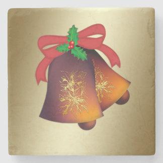 Navidad Belces en el oro Posavasos De Piedra