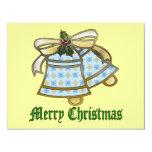Navidad Belces Invitación 10,8 X 13,9 Cm