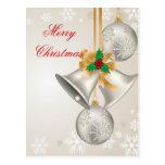 Navidad Belces y postal de los ornamentos