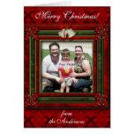 Navidad Belces y tarjeta de la foto de los arcos