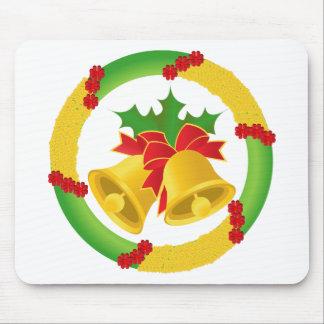 Navidad Bell Tapetes De Ratón