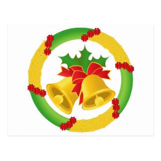 Navidad Bell Tarjetas Postales