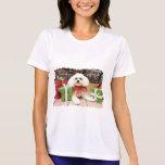 Navidad - Bichon Frise - Hermie Camiseta