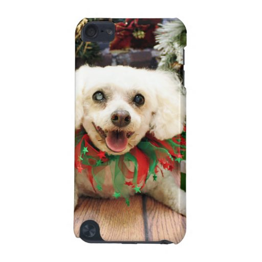 Navidad - Bichon Frise - taleguilla Funda Para iPod Touch 5G