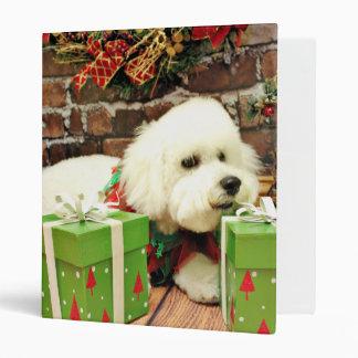 Navidad - Bichon Frise - tonelero