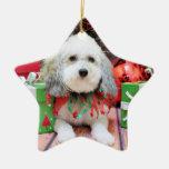Navidad - Bichon Frise X - Macy Ornamente De Reyes