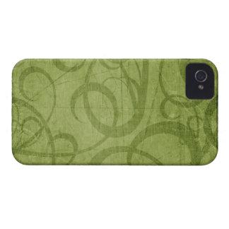 Navidad Blackberry verde 9700/9780 intrépido Carcasa Para iPhone 4 De Case-Mate