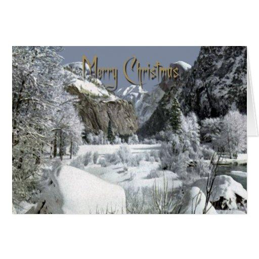 Navidad blanco de las Felices Navidad Tarjeta De Felicitación
