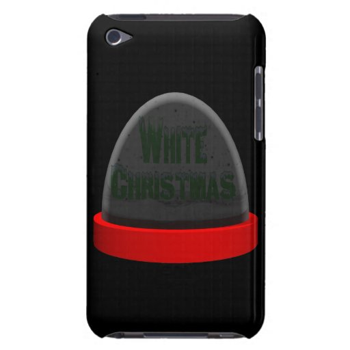 Navidad blanco iPod touch funda