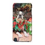 Navidad - Boston Terrier - elegante