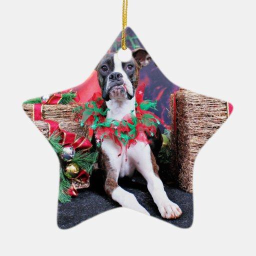 Navidad - boxeador - Chinno Ornamentos Para Reyes Magos