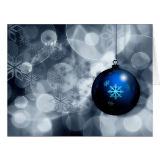 Navidad brillante tarjeton