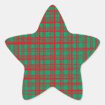 Navidad Brish comprueba al pegatina verde de la