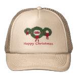 Navidad británico 2 gorra