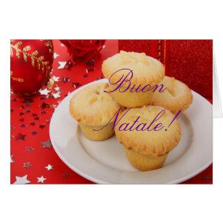 Navidad Buon Natale III Tarjeta De Felicitación