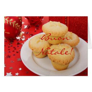 Navidad Buon Natale Tarjeta De Felicitación