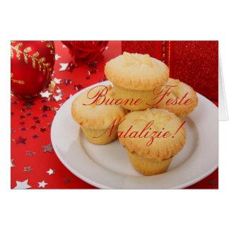 Navidad Buone Feste Natalizie II Tarjeta De Felicitación