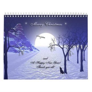 Navidad-calendario Calendario De Pared