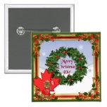 Navidad canadiense pin