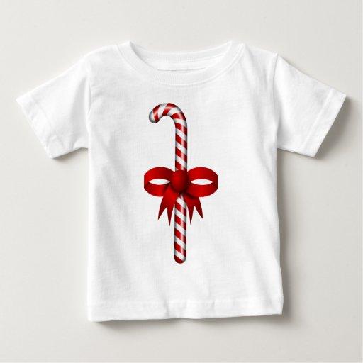 Navidad Candycane Playeras