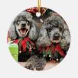 Navidad - caniche - máximo y PAL Ornato
