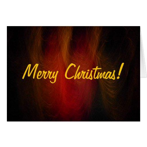 Navidad Card2 del instinto de la noche Tarjeta De Felicitación