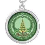Navidad Chaddagh Pendientes Personalizados