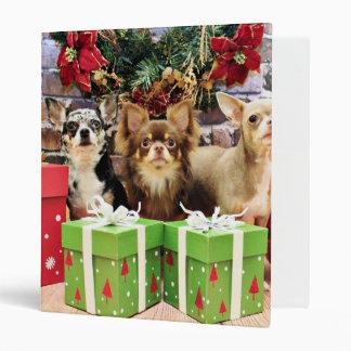 Navidad - chihuahua - azul - muy - yogui