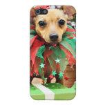 Navidad - chihuahua - margarita iPhone 5 carcasa
