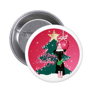 Navidad chillón pin redondo 5 cm