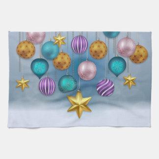 """Navidad chuchería, ornamento, toalla de cocina 16"""""""