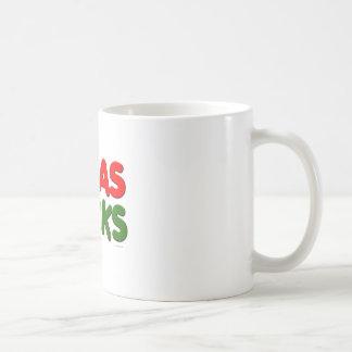 Navidad chupa taza
