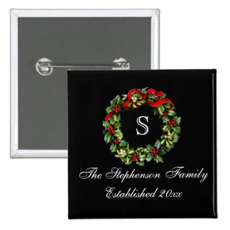 Navidad clásico del personalizado de la guirnalda pins
