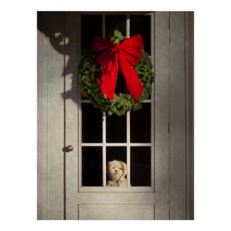 Navidad - Clinton NJ - perrito del navidad Impresiones