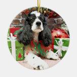 Navidad - cocker spaniel - Laci Ornamentos De Reyes Magos