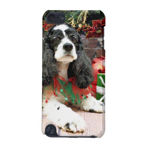 Navidad - cocker spaniel - Laci Funda Para iPod Touch 5G