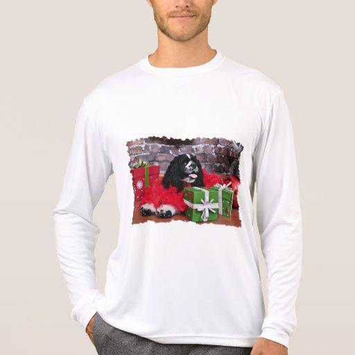 Navidad - cocker spaniel - Maggie Camiseta