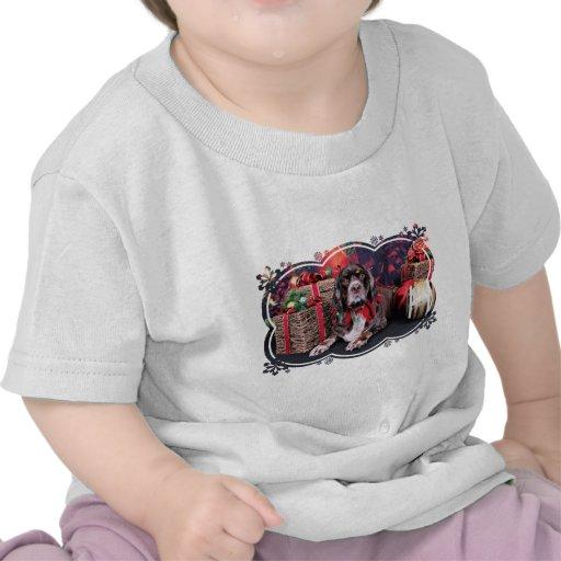 Navidad - cocker spaniel - Remmy Camiseta