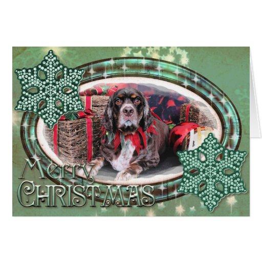 Navidad - cocker spaniel - Remmy Felicitacion